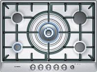 Варочная поверхность газовая Bosch PCQ 715M90E Inox