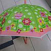 Зонт детский силиконовый цветы