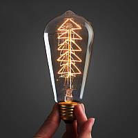 Лампа Эдисона ST-64 (ёлочка)