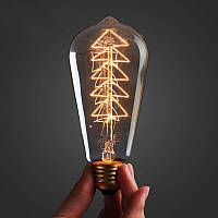 Лампа Эдисона ST-64 (ёлочка), фото 1