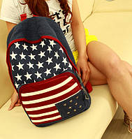 Рюкзак молодежный с американским флагом
