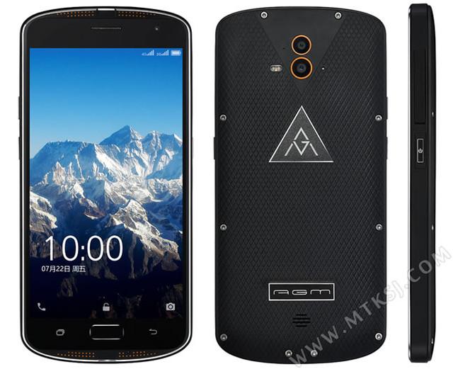AGM X1 – защищенный смартфон с двойной задней камерой