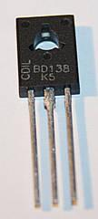 Транзистор BD138 (TO-126)