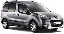 Защита заднего бампера на Peugeot Partner (c 2008--)