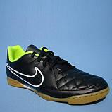 Детская футбольная обувь (футзалки) Nike Tiempo Rio II IC  Jr, фото 3