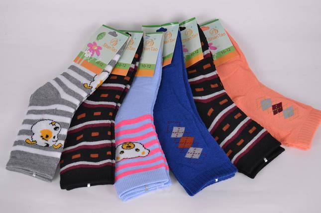 Носки детские махровые на девочку р.10-12 лет (CD001/2 ) | 12 пар, фото 2