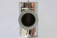 Тройник термо из нержавеющей стали 87° D 300/360 мм от производителя