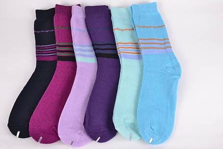 Женские носки Махра Полоска (KB1505) | 30 пар, фото 2
