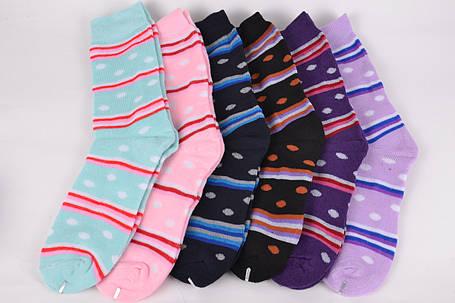 Женские носки Махра Горошек (KB1501) | 30 пар, фото 2