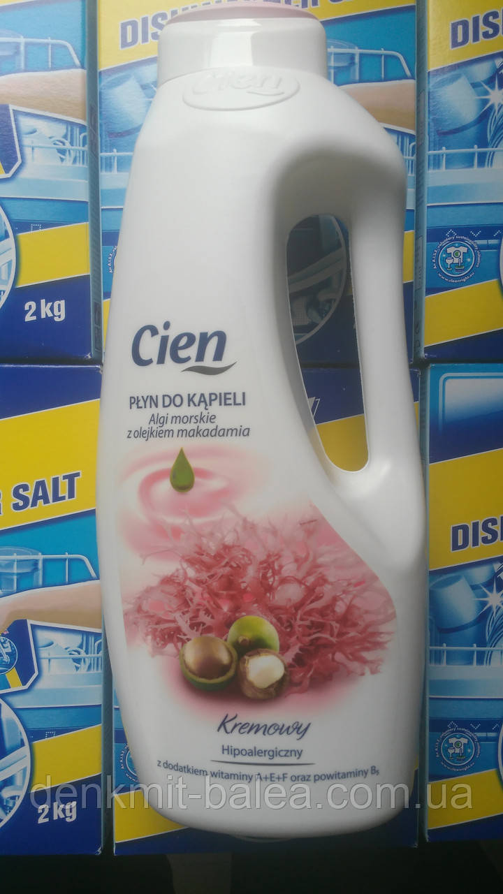 Крем-пена для ванны с экстрактом кораллов и масла макадамии  Cien 1500 мл.