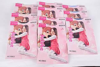 Детские капроновые колготки на девочку 60den р.152-164 (R863/152-164) | 10 шт., фото 2