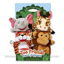 Пальчиковый кукольный театр Зоопарк Melissa&Doug