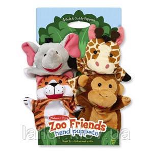 Пальчиковый кукольный театр Зоопарк Melissa&Doug, фото 2