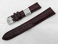 Ремешок  к часам Nagata, цвет коричневый, застежка стальная