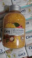 Соль для ванны с экстрактом манго и маслом макадамии Cien Mango 500 мл.