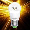 Светодиодная лампа EUROLAMP ЕКО G45 5W E27 прозрачная