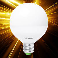 Светодиодная лампа EUROLAMP ЕКО G95 15W E27