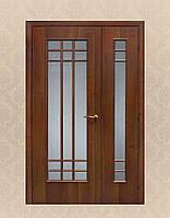 Двери из массива дуба полуторные