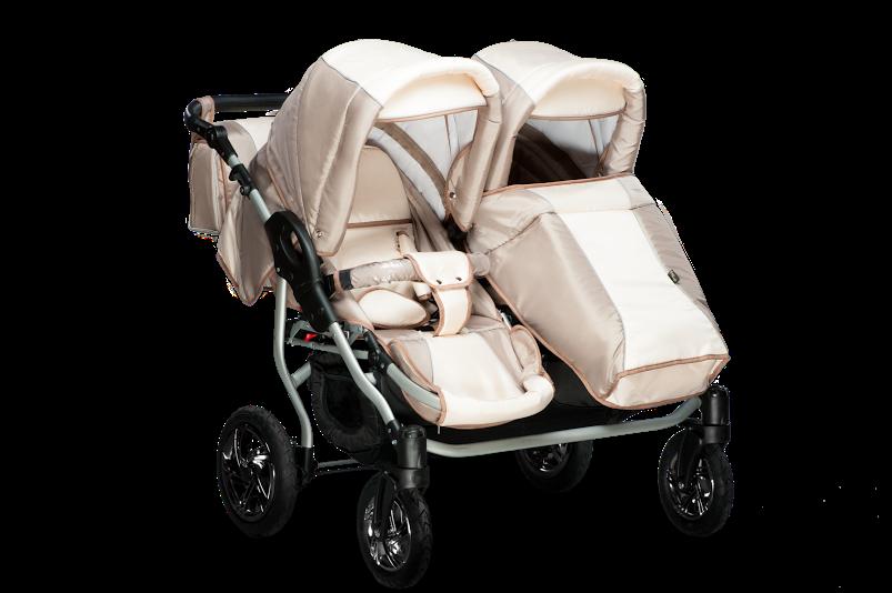 Детская коляска 2в1 для двойни Jumper Duo Trans baby, фото 4