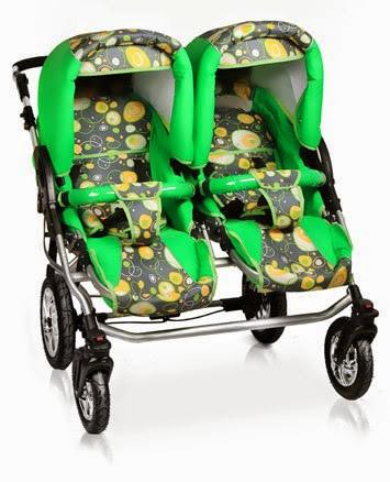 Детская коляска 2в1 для двойни Jumper Duo Trans baby, фото 7