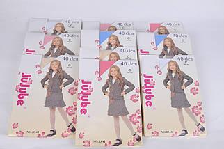 Детские капроновые колготки 40 den р.128-140 (R841/128-140) | 10 шт., фото 2