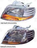 Фара левая электрическая Chevrolet Aveo Шевролет Авео