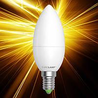 Светодиодная лампа EUROLAMP ЕКО CL 6W E14