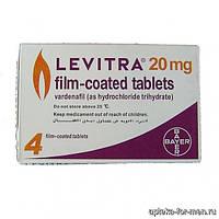 Левитра Оригинал ® Bayer Варденафил капсулы для потенции (макс мен, овчарка)