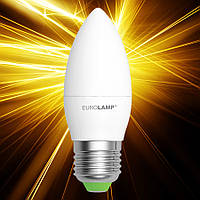 Светодиодная лампа EUROLAMP ЕКО CL 6W E27