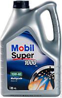 Моторное масло Mobil SUP 1000х1 15W-40 4л