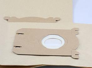 Комплект одноразовых мешков (5 штук+фильтр) для пылесоса Philips/Electrolux (P03C), фото 2