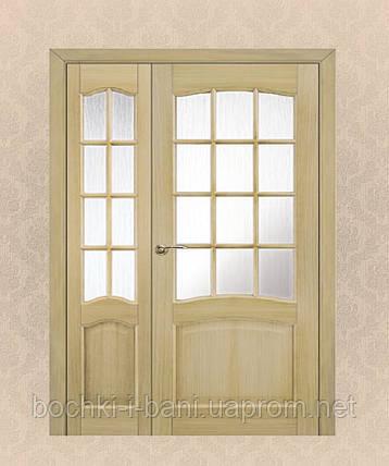 Двери из массива дуба полуторные, фото 2