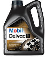 Моторное масло Mobil Delvac 1 5W-40 (4 л.)