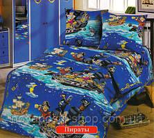 Бязь для детского постельного белья 150 см Пираты
