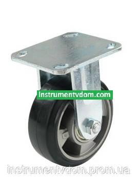 Колесо 710125 с неповоротным кронштейном (диаметр 125 мм)