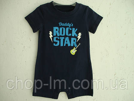 """Песочник от Carter's """"Rock star"""" (пісочник для малюка), фото 2"""