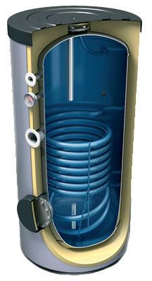 Бойлер косвенного нагрева Heliomax HWB 400/1.
