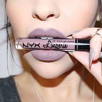 Шикарная матовая помада NYX Lip Lingerie Embellishment