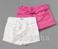 Шорты для девочек розовые хлопковые