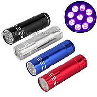 Ультрафиолетовый фонарь для проверки денег. Уценка