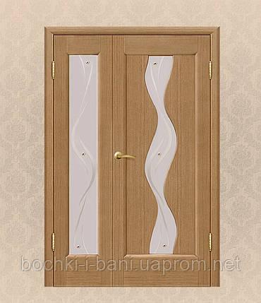 Двери межкомнатные полуторные , фото 2