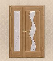 Двери межкомнатные полуторные
