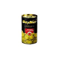 Оливки зеленые BayMar фаршированные анчоусом 300г