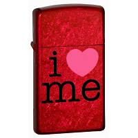 Зажигалка Zippo 24352 (шт.) I Love Me (Я люблю себя)
