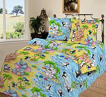 Бязь для детского постельного белья 150 см Чудо-остров