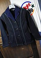Пиджак женский модный джинсовый, p.2xl