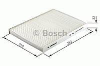 Фильтр салона Шкода Фабия 1999-->2008 Bosch (Германия) 1 987 432 057
