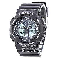 Бюджетные часы Casio G-Shock Ga-100 Black-White