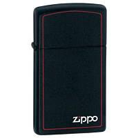 Зажигалка Zippo 1618 ZB (шт.) BLACK MATTE (Черная матовая)