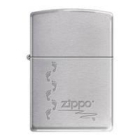 Бензиновая зажигалка Zippo 324632 ZIPPO FOOTPRINTS BLACK ICE.